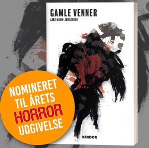 Gamle venner nomineret til Årets Horrorroman